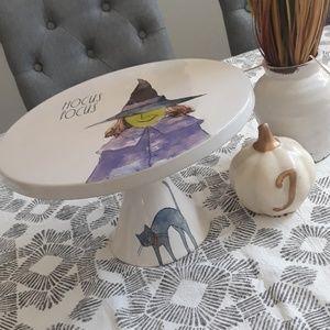 Rae Dunn artisan collection Halloween cake stand